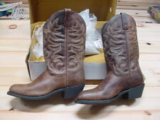 Durango Leather Western Boots Brown Waxy Size 9.5D 12 Cowboy Boot 68384