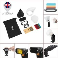 Selens Magnet Flash Accessory System Kit Honeycomb Snoot Sphere Bounce Filter UK