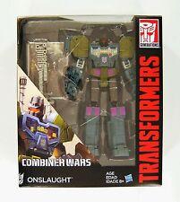 Hasbro GUERRAS DE Combinador generaciones Transformers CLASE onslaughter FIGURA