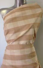 tissu 100% coton a rayures tissé teint  Largeur :140cm    Poids :150gr m2