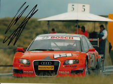 Christijan Albers Hand Signed Audi Photo 8x6.