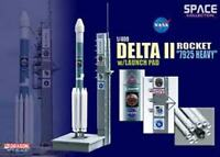 DRAGON 56339 DELTA ROCKET 7925 HEAVY & LAUNCH PAD model USAF MER-8 2003 1:400th