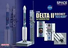 Dragon 56339 Delta Rocket 7925 Pesados & Plataforma De Lanzamiento Modelo Usaf mer-8 2003 1:400 Th