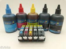 Refillable Cartridge KIT For Canon Pixma MX712 MX892 MG5320 MX882 Printer CISS