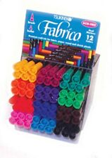 FABRICO DUAL TIPPED MARKER PEN TSUKINEKO - IDEAL FOR FABRIC - 35 COLOUR CHOICES
