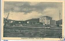 CARTOLINA d'Epoca: TERRANOVA PAUSANIA SASSARI Sardegna