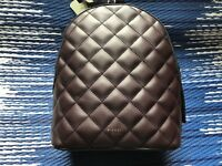Fiorelli Anouk Aubergine Quilted backpack Rucksack New RRP £70