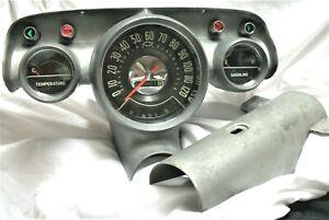 1957 Chevrolet Gauge Instrument Cluster Automatic Transmission
