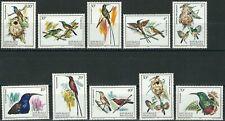 Ruanda - Vögel Satz postfrisch 1983 Mi. 1214-1223