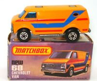 LESNEY MATCHBOX NO. 68 CHEVROLET VAN - A/MINT & BOXED