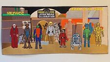 Star Wars Celebration exclusive Chicago 2019 uncut CANTINA Patch from NESWCC