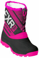 FXR Black Youth Helix Race Insulated Snowmobile Mitten Snow 2019