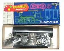 """ROUNDHOUSE  UNDECORATED """"TANK TRAIN"""" TANK CAR KIT__HO SCALE"""