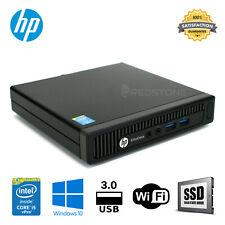 HP EliteDesk 800G1 MINI i5 4570T  8GB 500GB 128GB 256GB SSD Windows 10 PRO Wifi