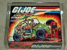 Vintage GI JOE 1985 AFA 80 A.W.E. STRIKER Crankcase HASBRO series 4 MISB BOXED!