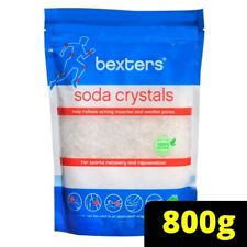 Bexters Soda Crystals for Sports Injuries and Aching Muscles 800g Non Fragranced