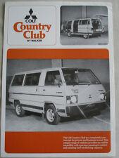 Colt Country Club por Walker FOLLETO c1980