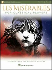 Les Miserables for Classical Players Flute and Piano Book & Audio 000284867