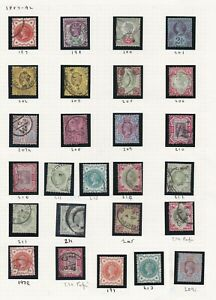 Lot:37964  GB QV  Jubilee Issue  1887SG197-SG214