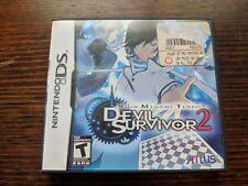 Shin Megami Tensei Devil Survivor 2 (Nintendo DS) NTSC 3DS DSi Rare Persona