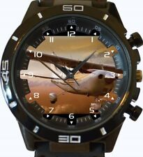 Cessna Flyer Pilot Lover Special Gift New Gt Series Sports Unisex Watch