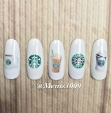 Starbucks Nail Decals (WATER DECALS)  Nail art decals Starbucks nail art