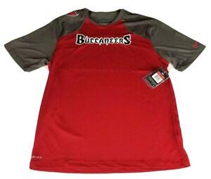 Tampa Bay Buccaneers Nike Dri Fit Men's Red T Shirt Size Large