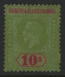 GILBERT & ELLICE ISLANDS, MINT, #31, OG HR, INTERESTING