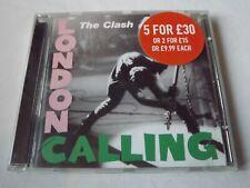 The Clash London Calling CD Joe Strummer Mick Jones Paul Simenon Topper Headon