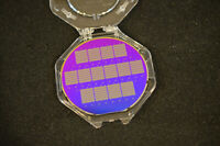 Unique early EEPROM technology research wafer 6 inch silicon wafer