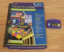 Quantum Pad Learning System Interactive Sample Book & Cartridge Only *Read*