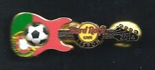 Hard Rock Europe Soccer Flag Series LISBON 2014 Pin. P3