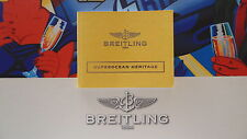 Book Guide Booklet S/O Heritage Breitling Pilots Divers Watch Instruction Manual