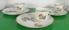 New ListingFitz and Floyd Collector's Bird Snack Set Plate and Cup (s) Lot Of 3