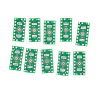 10 PCS QFN16 Pin Pitch 0.65mm 0.5mm to DIP16 Adapter PCB Board Converter JB