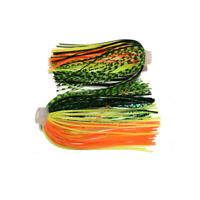 10pc Sensation skirts DIY Buzzbaits Spinner Buzz Bait fishing Silicone skirt 027