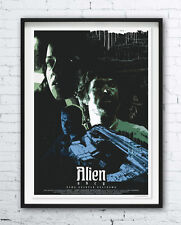Alien - movie polish poster - print - Ridley Scott / Sigourney Weaver - Ripley