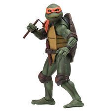 """NECA Teenage Mutant Ninja Turtles 7"""" Figure 1990 Movie Michelangelo Ip4 Lotc0920"""