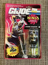 VINTAGE GI JOE STORMSHADOW MOC SEALED NINJA FORCE ARAH HASBRO 1991 ORIGINAL