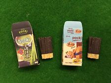 Accessories Dollhouse Miniature Japanese Chocolate Biscuit Bar Re-ment Size #372