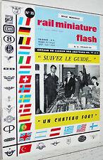 RMF RAIL MINIATURE FLASH N°35 1965 TRAINS LOCOMOTIVES / PARC VAPEUR FRANCE