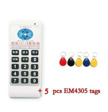 Id Card Duplicator Reader Handheld Frequency Access Control Tool 125khz 1356mhz