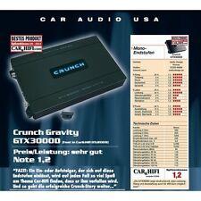 Crunch gtx-3000d mono-blocco Digital Gravity amp gtx3000d 3000 Watt max.