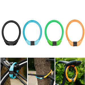 Anti-Theft Lock Code Lock Ring Lock for Mountain Bike Electric Vehicles Scooters