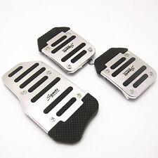 Nonslip Car Auto Vehicle Accelerator Clutch Brake Foot Pedal Cover Set Treadle