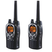 Midland GXT1000 22-Channels 2-Way Radios Walkie Talkies Up To 36 Miles (Pair)