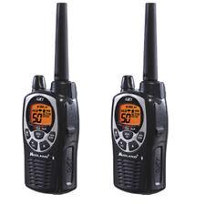 Midland GXT1000 22-Channels 2-Way Radios Walkie Talkies Up To 36 Miles (Pair)
