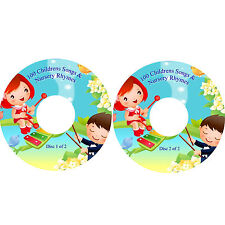 100 Nursery Rhymes & Childrens Songs to Sing-A-Long too 2 CDs Fun Party Learning