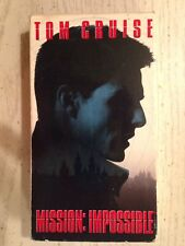 Tom Cruise Mission: Impossible VHS Video Cassette 1996 Color 110 Minutes Stereo