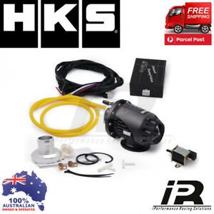 HKS TURBO DIESEL ELECTRONIC BLOW OFF VALVE DUMP VALVE BLACK